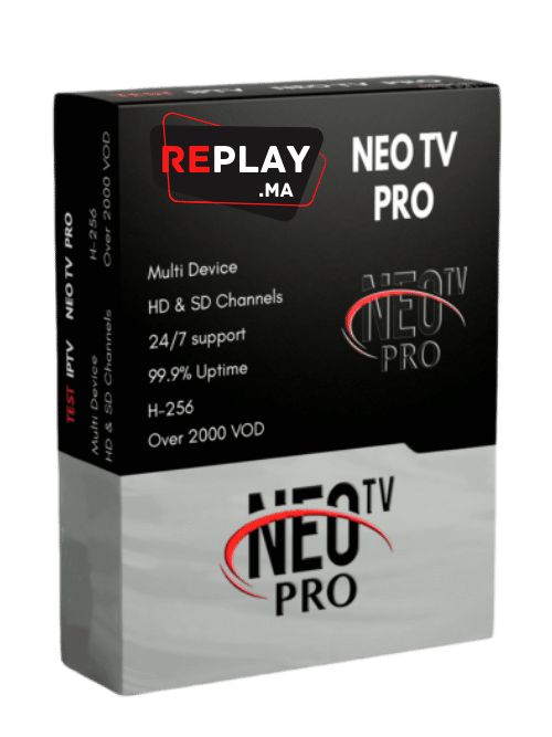NEO TV X PRO IPTV Maroc